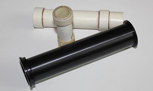 Réducteurs de diamètre 38 vers 29mm ; 29 vers 24 et 24 vers 13mm.