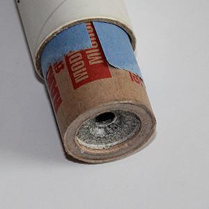 Utilisez assez de papier pour que la sortie du moteur soit difficile mais pas impossible.